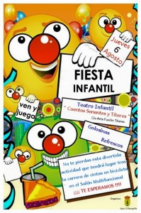 Fiesta infantil feria 2015