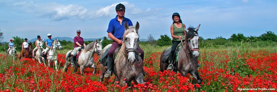 Vacaciones a caballo
